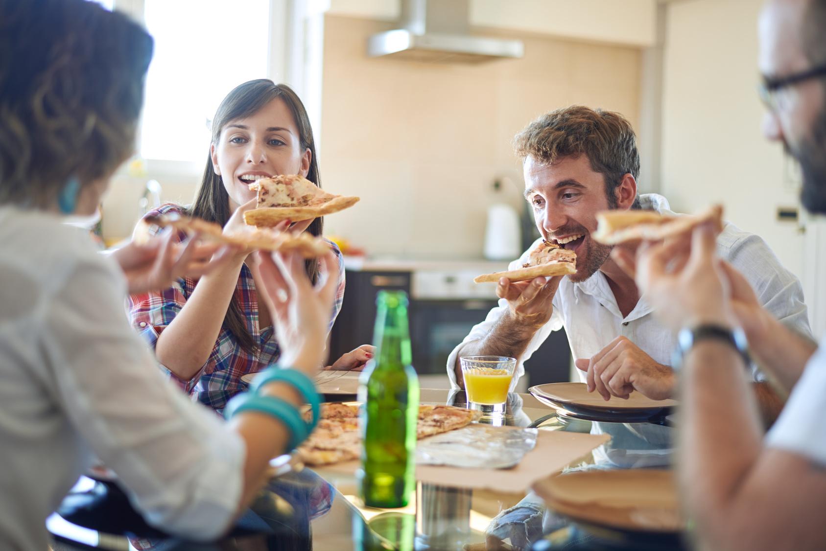 ¿Pedimos unas pizzas? ¡Perfecto!